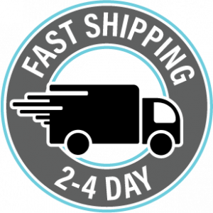 Fast 2-4 Dat Shipping with USPS
