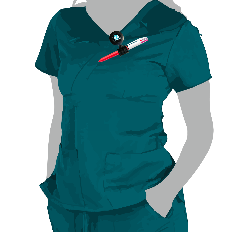 Ez Pen Retractable Reel for Nurses Works