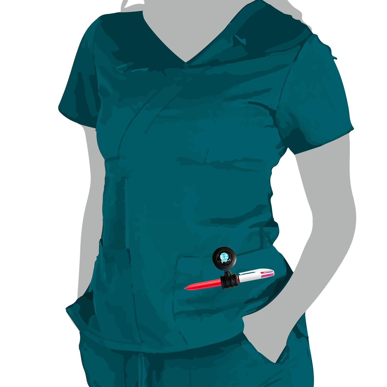 Ez Pen Retractable Reel for Nurses and Pros